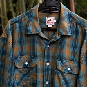 Pendleton men's surf button up shirt large